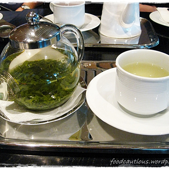 Japanese Green Tea @ The Tea Room