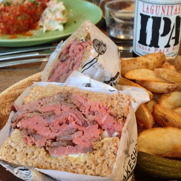 Pastrami Sandwich @ The Bakeshop