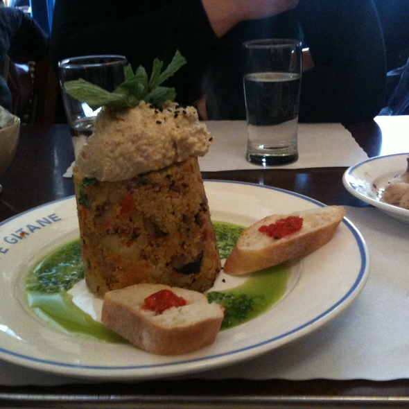Moroccan Couscous @ Cafe Gitane