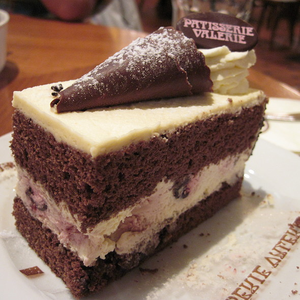 Black forest gateau @ Patisserie Valerie