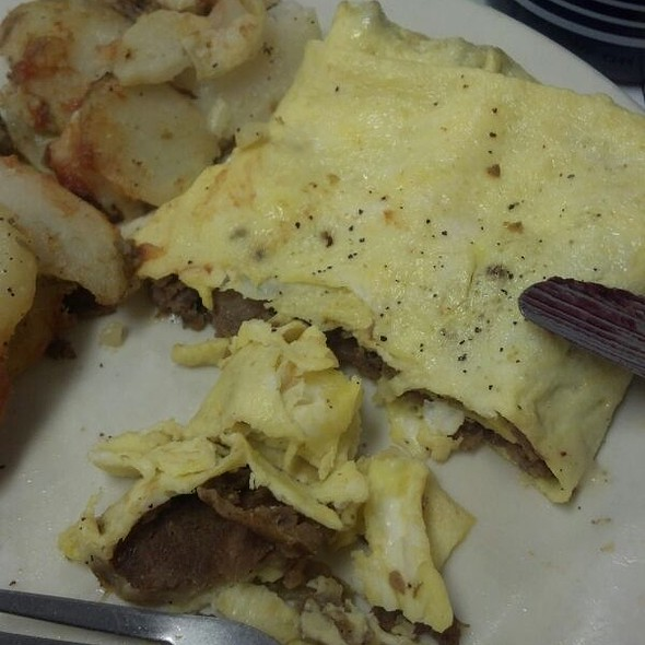 Cheesesteak Omelette @ Souderton Family Restaurant