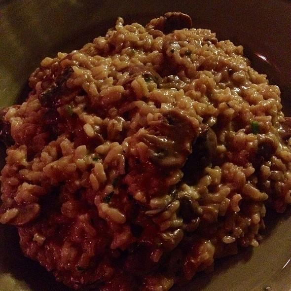 mushroom risotto - Colori Kitchen, Los Angeles, CA