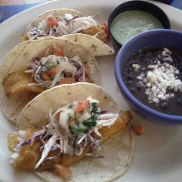 fish tacos @ Tacos Mexico Restaurant