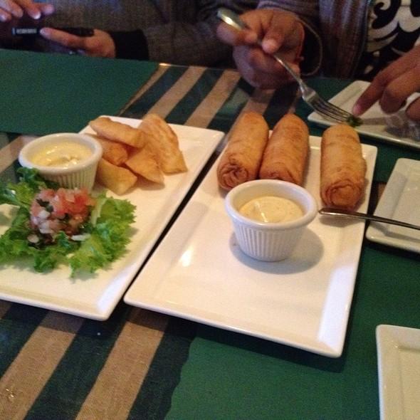 Tequenos And Yuca Frites @ La Caraquena