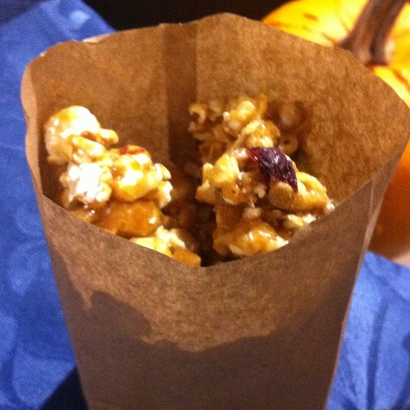 Harvest Spice Caramel Corn With Cranberries And Pepitas