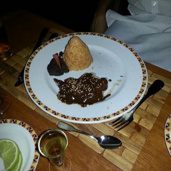 Chicken Mole @ Dreams Palm Beach Punta Cana