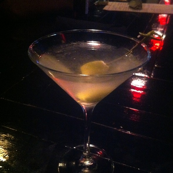 Dirty Harry Martini - Harry's Grille & Tavern, Charlotte, NC