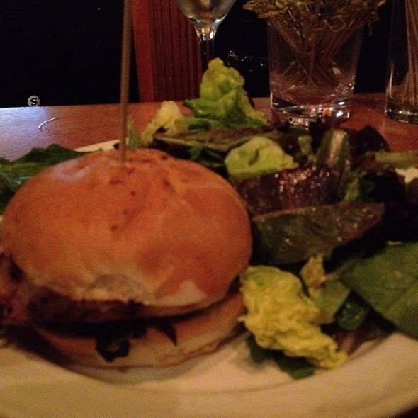 Roasted pork loin sandwich @ Social Kitchen & Brewery
