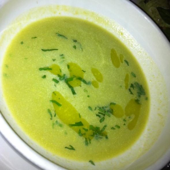 Asparagus Soup - Baraonda, New York, NY