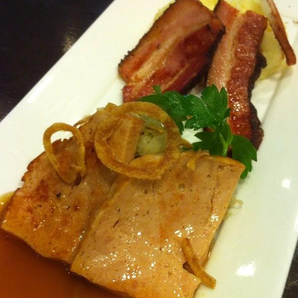Meatloaf N Bacon Mash @ Brotzeit German Bier Bar & Restaurant