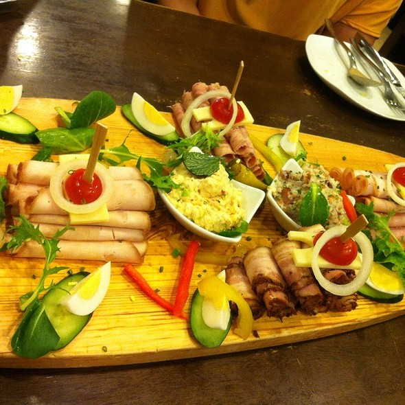 Cold Platter @ Brotzeit German Bier Bar & Restaurant