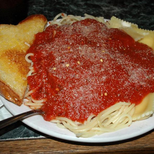Half Spaghetti Half Ravioli - La Bella Pizza, Chula Vista, CA