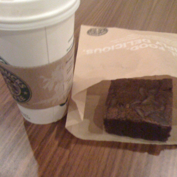 Starbucks Brownie @ Starbucks Coffee