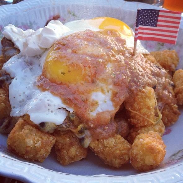 Breakfast Nachos @ The Institute Bar