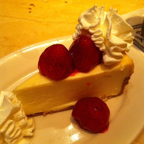 Strawberry Cheesecake @ The Cheesecake Factory