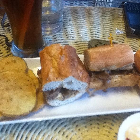 Steak Sandwich @ Loreland Farm Resort