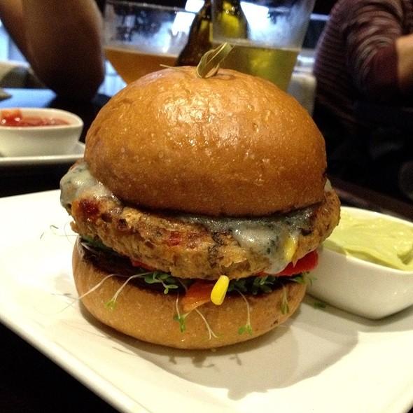Veggie Burger - Eden Burger Bar, Glendale, CA