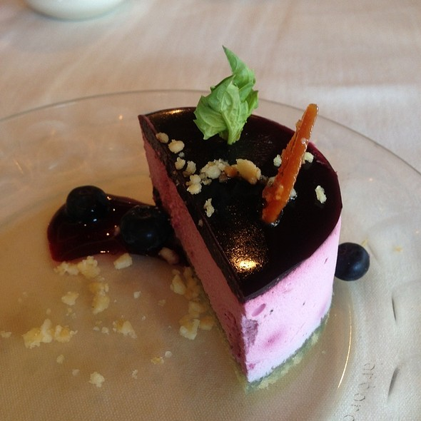 Raspberry & Chocolate Mousse Cake - Nicollet Island Inn, Minneapolis, MN