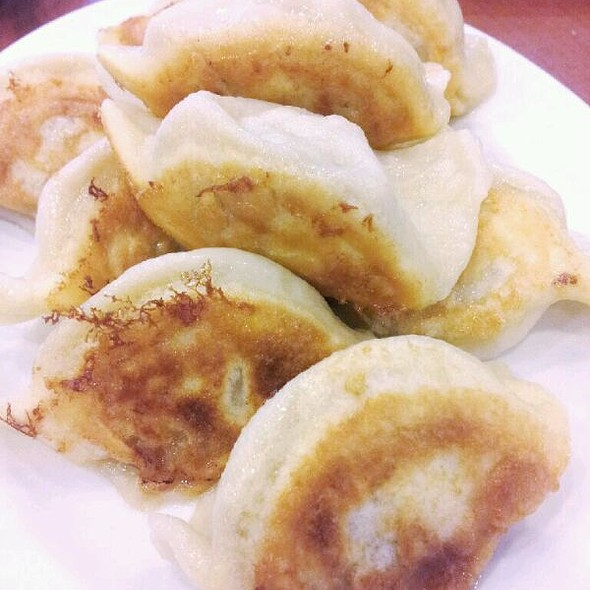Pan Fried Pork And Bok Choy Dumplings @ 101 Noodle Express