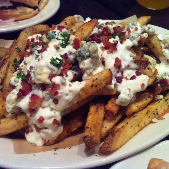 Bacon And Bleu Cheese Fries @ DMK Burger Bar
