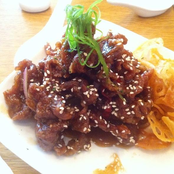 Crispy Spicy Beef @ RedFarm
