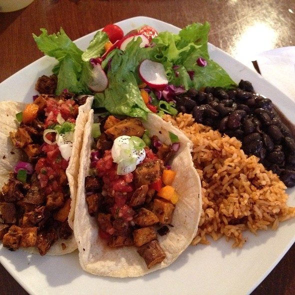 Vegetarian Squash Tacos - Mezcal Tequila Cantina - Leominster, Leominster, MA