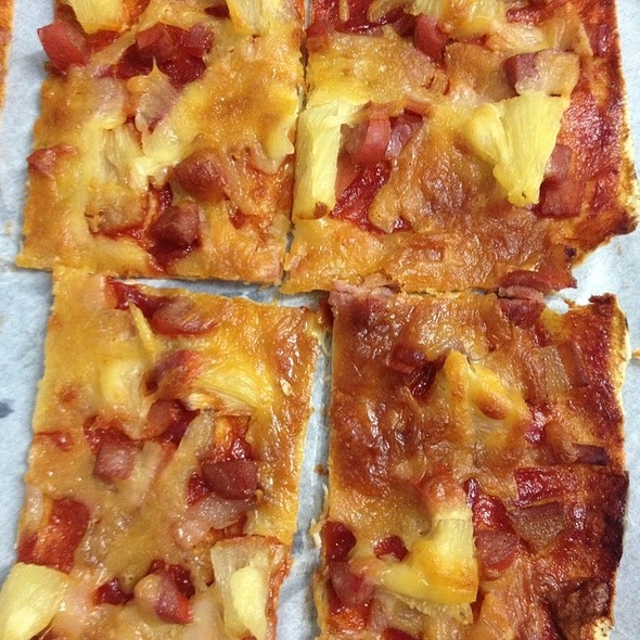 Special Square Pizza @ The Roebuck