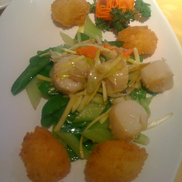Scallops Two Ways @ Dynasty Chinese Cuisine