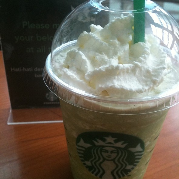 Starbucks Coffee Uob Plaza Menu