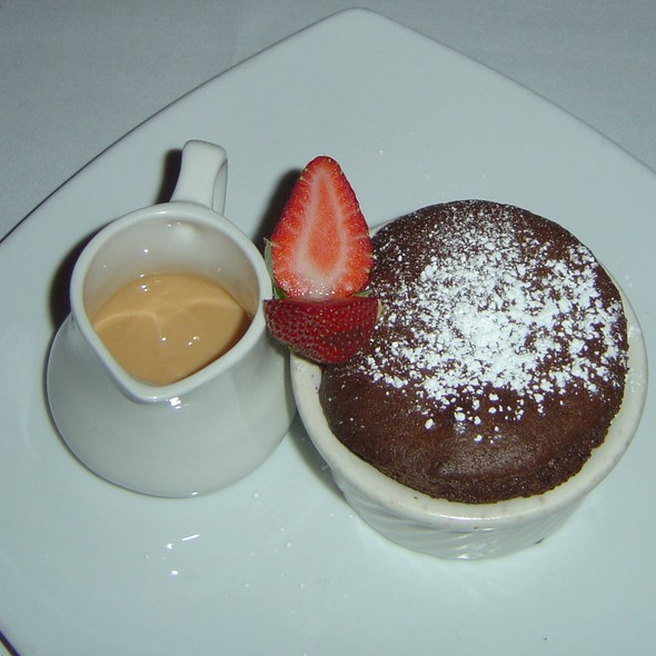 Chocolate Souffle w/ Cinnamon Dulce De Leche @ Silo Elevated Cuisine