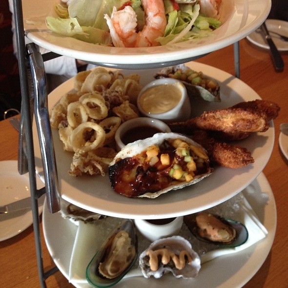 Seafood Tower - Scott's Seafood on the River, Sacramento, CA