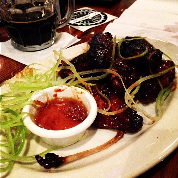 Smokehouse Wings @ Against the Grain Brewery and Smokehouse