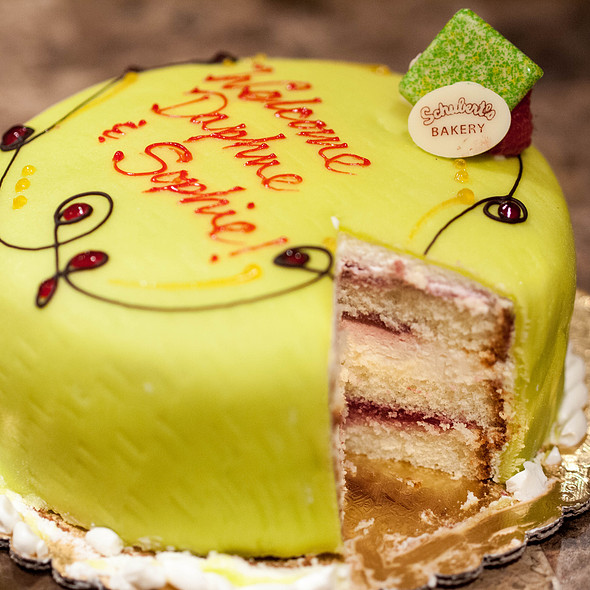 Swedish Princess Cake @ Schubert's Bakery