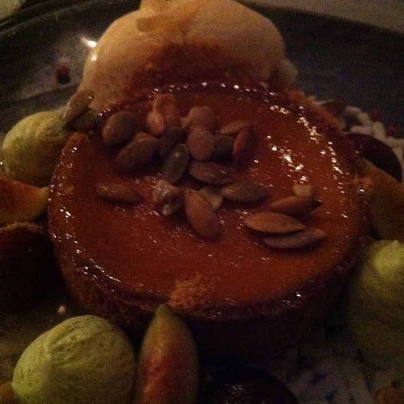 Gingerbread Pumpkin Pie @ Morimoto