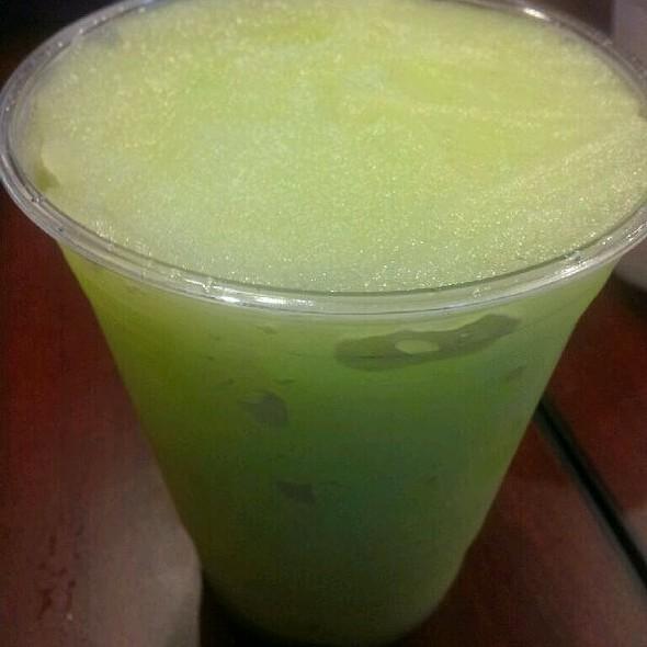 green mango slush @ Monja