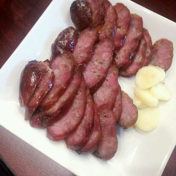 Taiwanese Sausage @ Monja