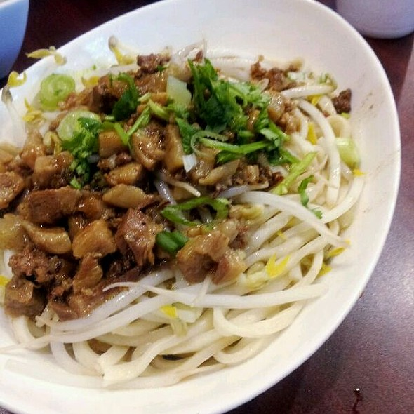 Ground Pork and Mushroom Dry Noodles @ Monja