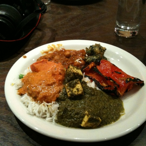 Indian Buffet @ Jackson Diner