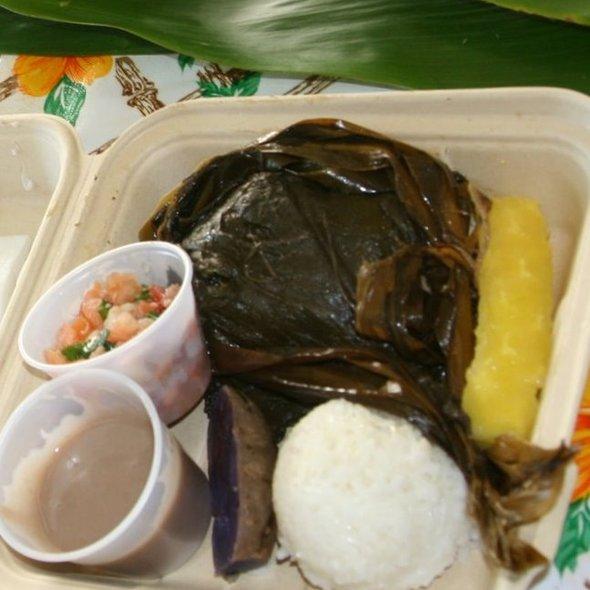 Hawaiian Plate