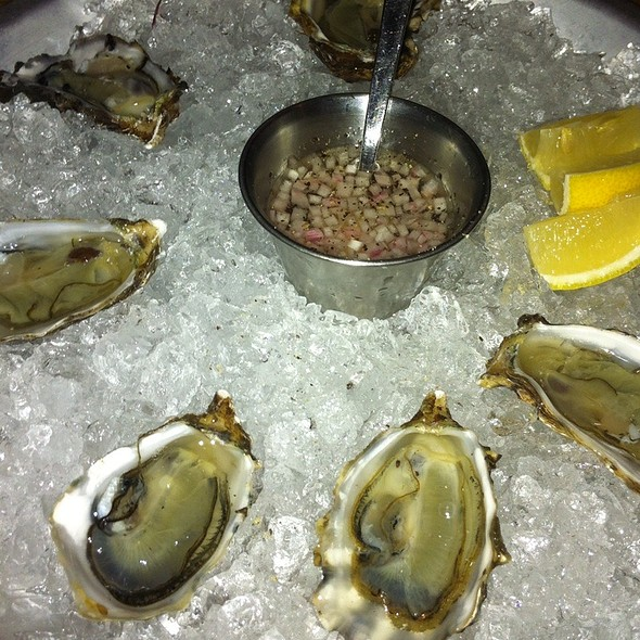 Oysters @ Bar Agricole