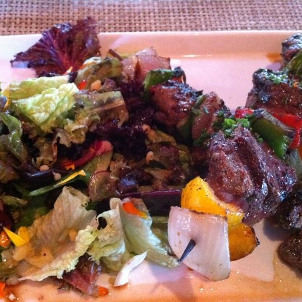 Filet Mignon Kabob @ Alexander's Steakhouse