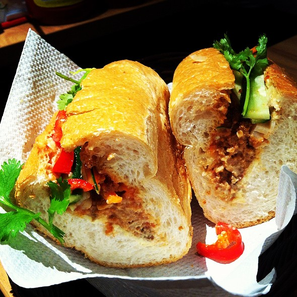 Banh Mi Pork Meatballs @ Nam Nam Noodle Bar (Raffles City)