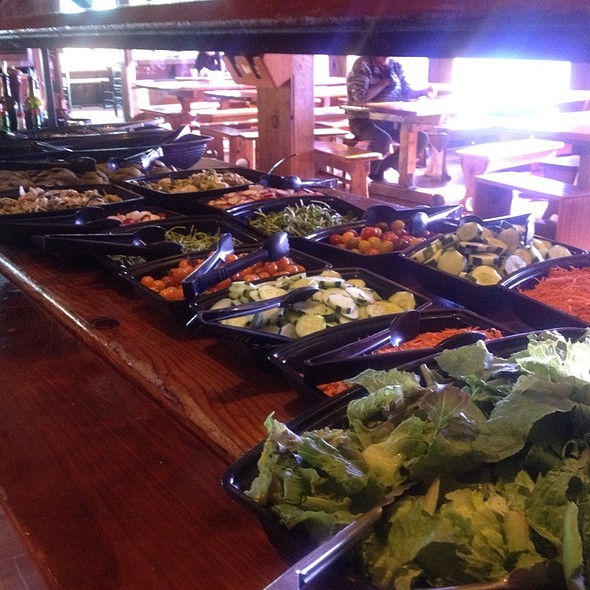 Salad Bar @ Esalen Institute