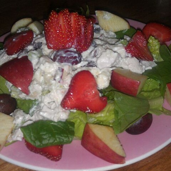 Fruited Chicken Salad  @ Star Keeper Cafe