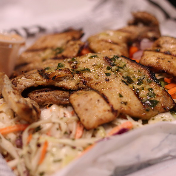 Grilled Swordfish @ Buster's Sea Cove