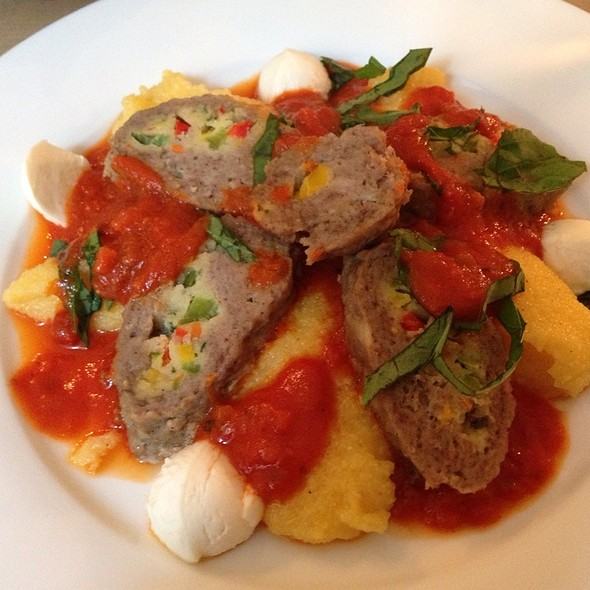Minced Meat Roulette With Polenta @ L'assaggino