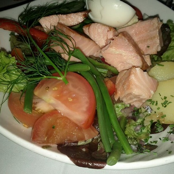 Smoked Salmon Side Salad @ Eken Bar & Matsal