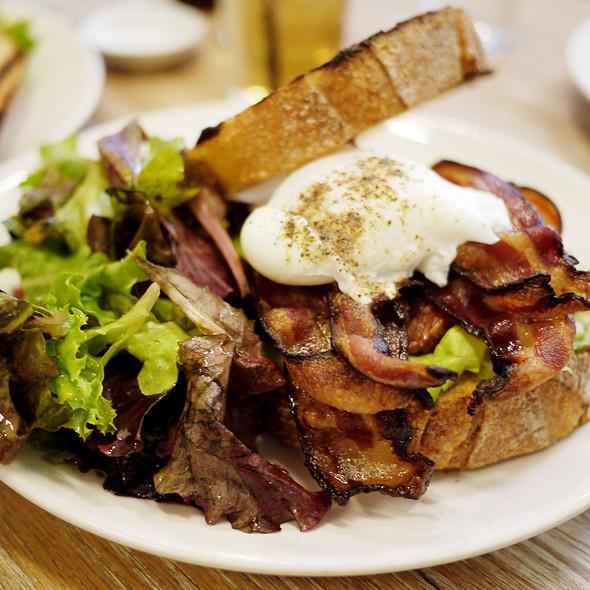 BLT With A Fried Egg And Avocado - The Fat Radish, New York, NY
