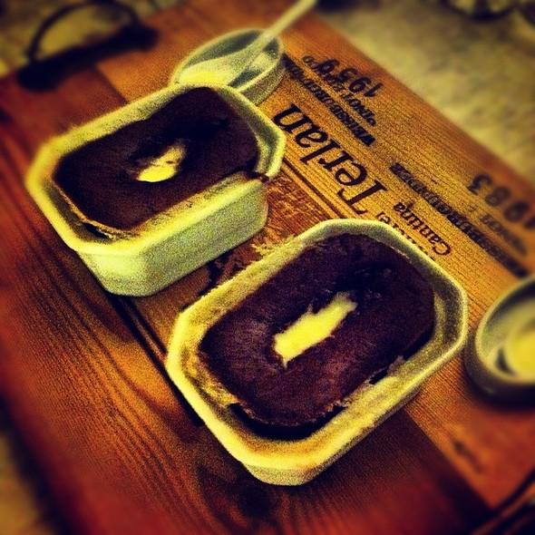 Chocolate Souffle @ Aromando Bistrot