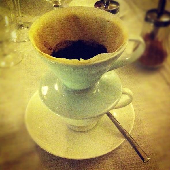 Caffè Filtrato @ Aromando Bistrot